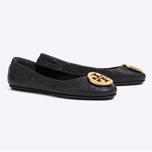 Tory Burch Minnie Quilted Ballet Flats
